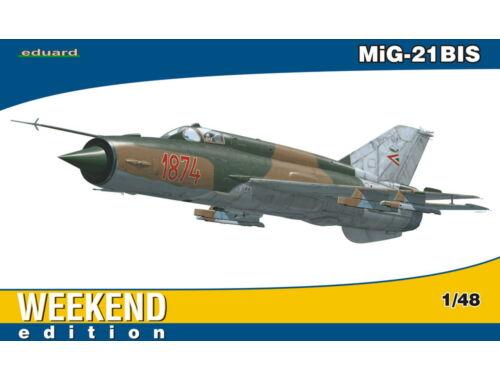 Eduard MiG-21BIS WEEKEND edition 1:48 (84131)