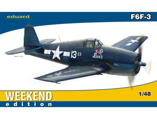 Eduard F6F-3 WEEKEND edition 1:48 (84135)