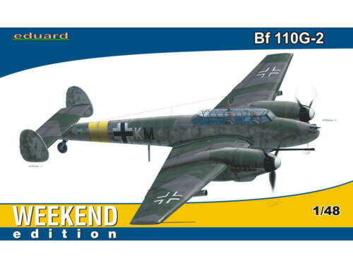 Eduard Bf 110G-2 WEEKEND edition 1:48 (84140)