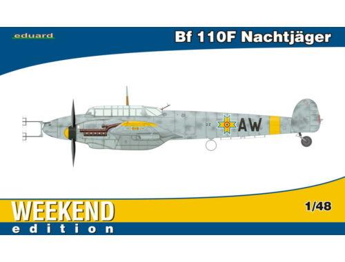 Eduard Bf 110F Nachtjäger WEEKEND edition 1:48 (84145)