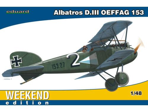 Eduard Albatros D.III OEFFAG 153 WEEKEND edition 1:48 (84150)