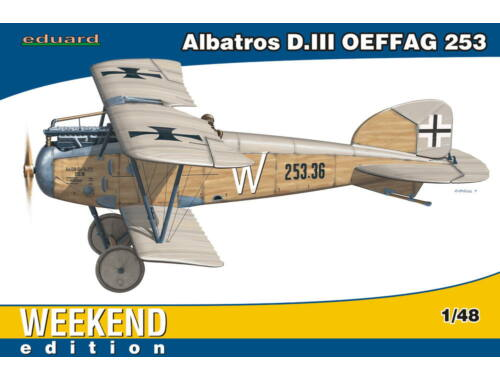 Eduard Albatros D.III OEFFAG 253 WEEKEND edition 1:48 (84152)
