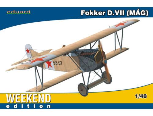 Eduard Fokker D.VII MAG WEEKEND edition 1:48 (84156)