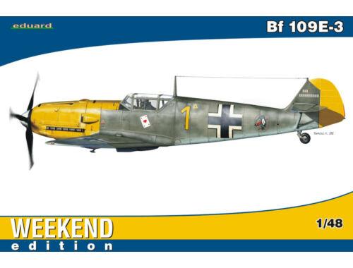 Eduard Bf 109E-3 WEEKEND edition 1:48 (84165)