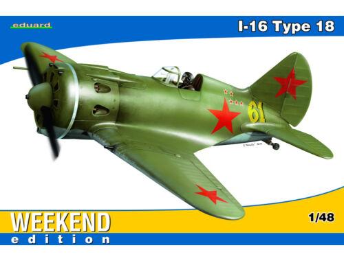 Eduard I-16 Type 18 WEEKEND edition 1:48 (8465)