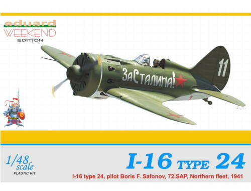 Eduard I-16 Type 24 WEEKEND edition 1:48 (8468)