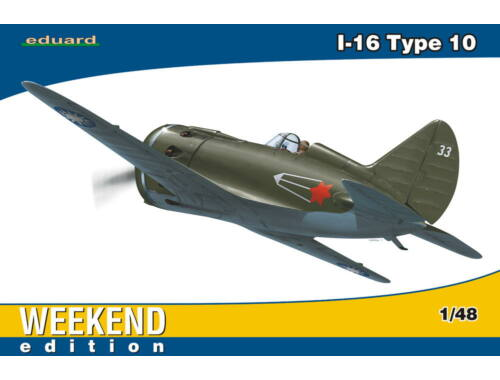 Eduard I-16 type 10 WEEKEND edition 1:48 (8469)