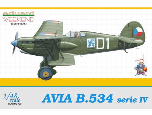 Eduard Avia B-534 IV serie Weekend 1:48 (8475)