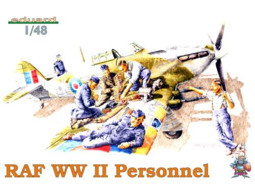 Eduard RAF WWII PERSONNEL 1:48 (8508)