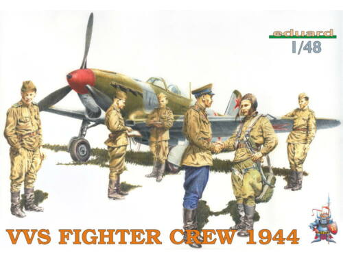 Eduard VVS Fighter Crew 1944 1:48 (8509)