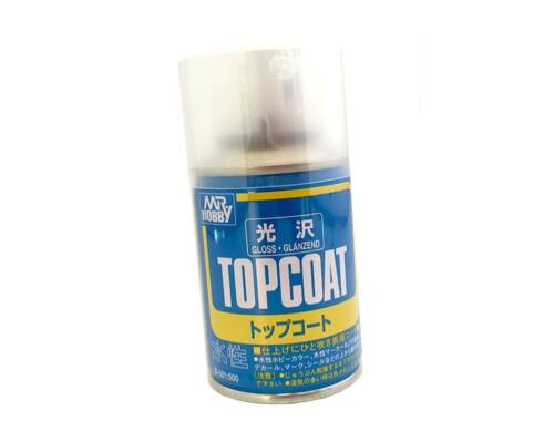Mr.Hobby Mr.Top Coat Gloss Spray B-501