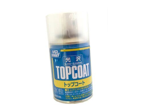 Mr.Hobby Mr.Top Coat Gloss Spray B-501