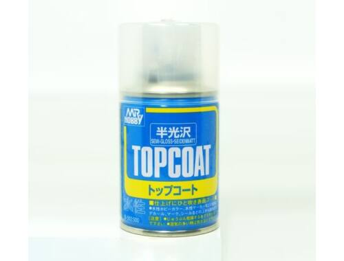 Mr.Hobby Mr.Top Coat Semi-gloss spray B-502