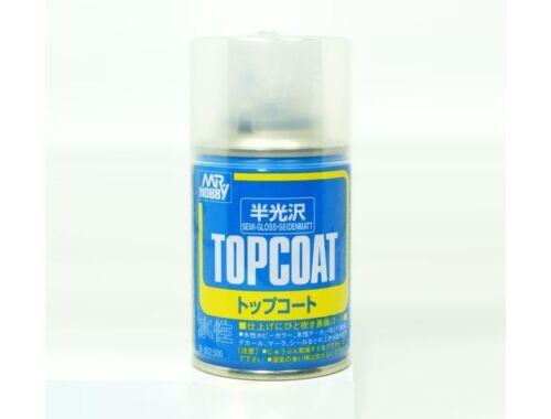 Mr.Hobby Mr.Top Coat Semi-gloss spray B-502