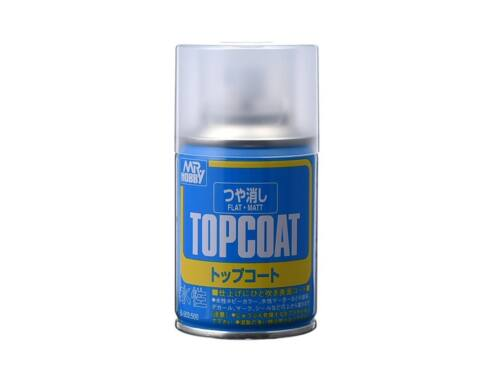 Mr.Hobby Mr.Top Coat Flat spray B-503