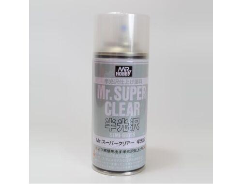 Mr.Hobby Mr.Super Clear Semi-Gloss Spray B-516