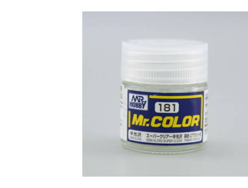 Mr.Hobby Mr.Color C-181 Semi-Gloss Super Clear