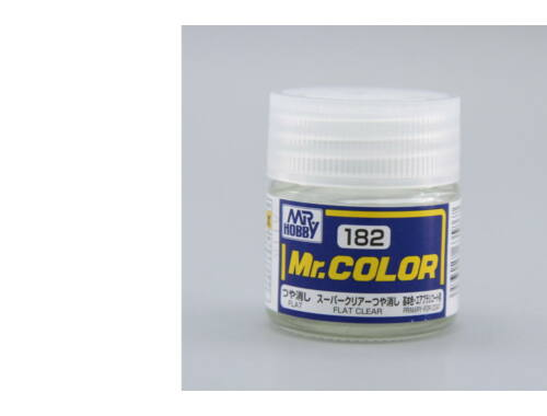 Mr.Hobby Mr.Color C-182 Flat Clear