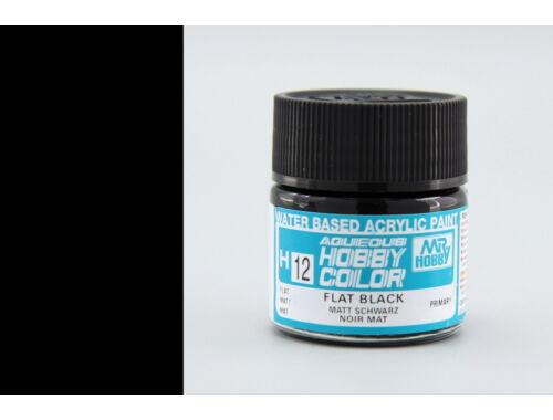 Mr.Hobby Aqueous Hobby Color H-012 Flat Black