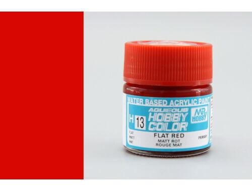 Mr.Hobby Aqueous Hobby Color H-013 Flat Red
