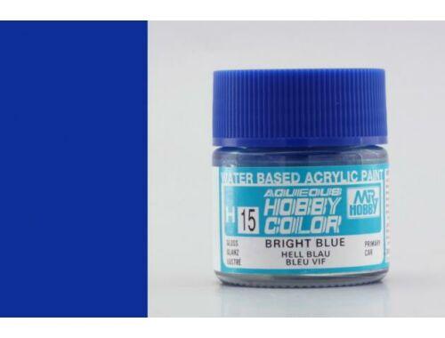 Mr.Hobby Aqueous Hobby Color H-015 Bright Blue