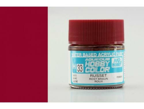Mr.Hobby Aqueous Hobby Color H-033 Russet