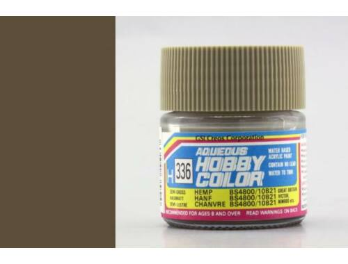 Mr.Hobby Aqueous Hobby Color H-336 Hemp BS4800/10B21