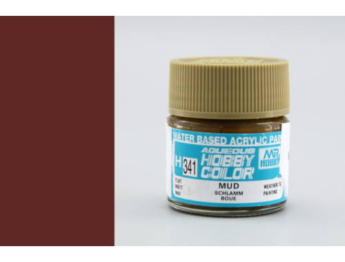 Mr.Hobby Aqueous Hobby Color H-341 Mud