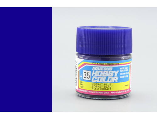 Mr.Hobby Aqueous Hobby Color H-035 Cobalt Blue