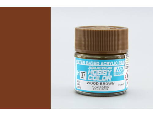 Mr.Hobby Aqueous Hobby Color H-037 Wood Brown