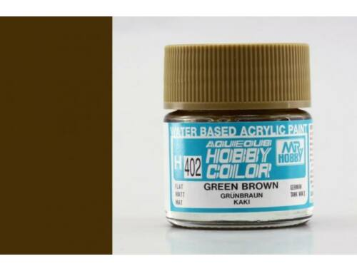 Mr.Hobby Aqueous Hobby Color H-402 Green Brown