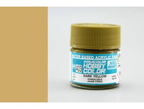 Mr.Hobby Aqueous Hobby Color H-403 Dark Yellow