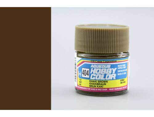 Mr.Hobby Aqueous Hobby Color H-404 Khaki Brown