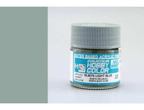 Mr.Hobby Aqueous Hobby Color H-417 RLM76 Light Blue