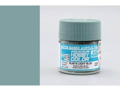 Mr.Hobby Aqueous Hobby Color H-418 RLM78 Light Blue