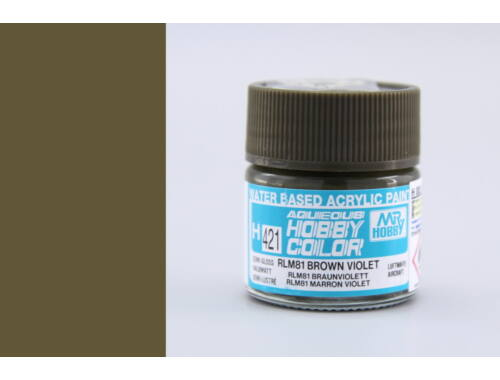 Mr.Hobby Aqueous Hobby Color H-421 RLM81 Brown Violet