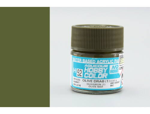 Mr.Hobby Aqueous Hobby Color H-052 Olive Drab (1)