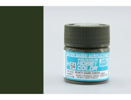 Mr.Hobby Aqueous Hobby Color H-064 RLM71 Dark Green