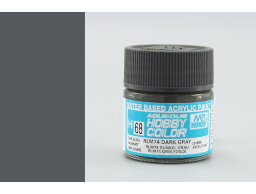Mr.Hobby Aqueous Hobby Color H-068 RLM74 Dark Gray