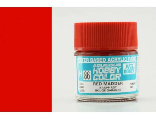 Mr.Hobby Aqueous Hobby Color H-086 Red Madder