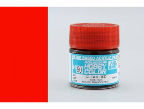 Mr.Hobby Aqueous Hobby Color H-090 Clear Red