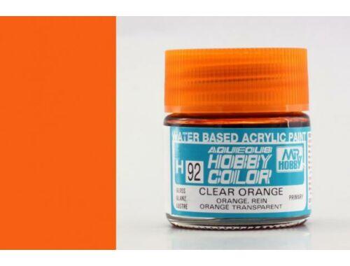 Mr.Hobby Aqueous Hobby Color H-092 Clear Orange