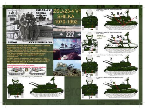 HADmodels ZSU-23-4 Shilka matrica 1:35 (35008HJ)
