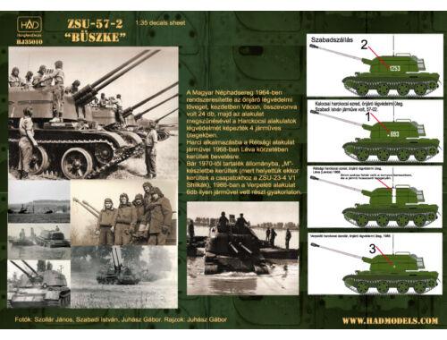 HADmodels ZSU-57-2 Büszke matrica 1:35 (35010HJ)