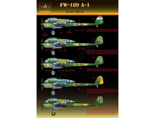 HADmodels Fw-189A-1 matrica 1:72 (72133)