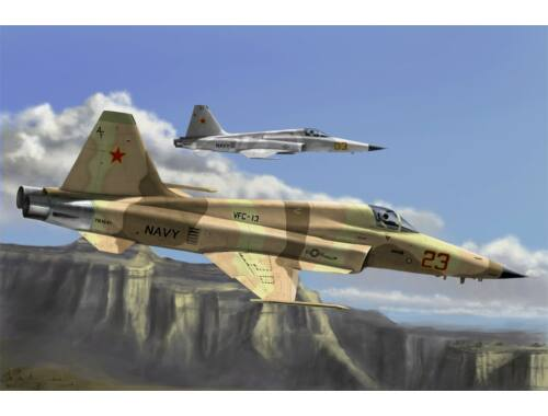 Hobby Boss F-5E Tiger II fighter - Re-edition 1:72 (80207)
