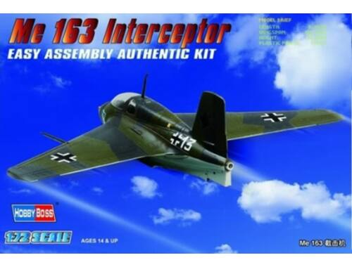Hobby Boss Germany Me 163 Fighter 1:72 (80238)