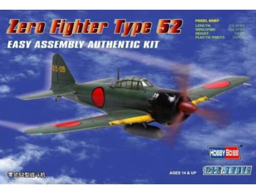 Hobby Boss Japan Zero Fighter Type 52 1:72 (80241)
