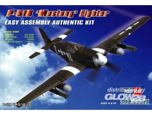 Hobby Boss P-51B 'Mustang' Fighter 1:72 (80242)