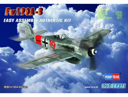 Hobby Boss Germany Fw190A-8 Fighter 1:72 (80244)